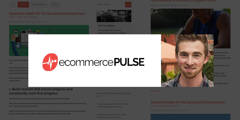 Ecommerce Pulse Blog - Leighton Taylor