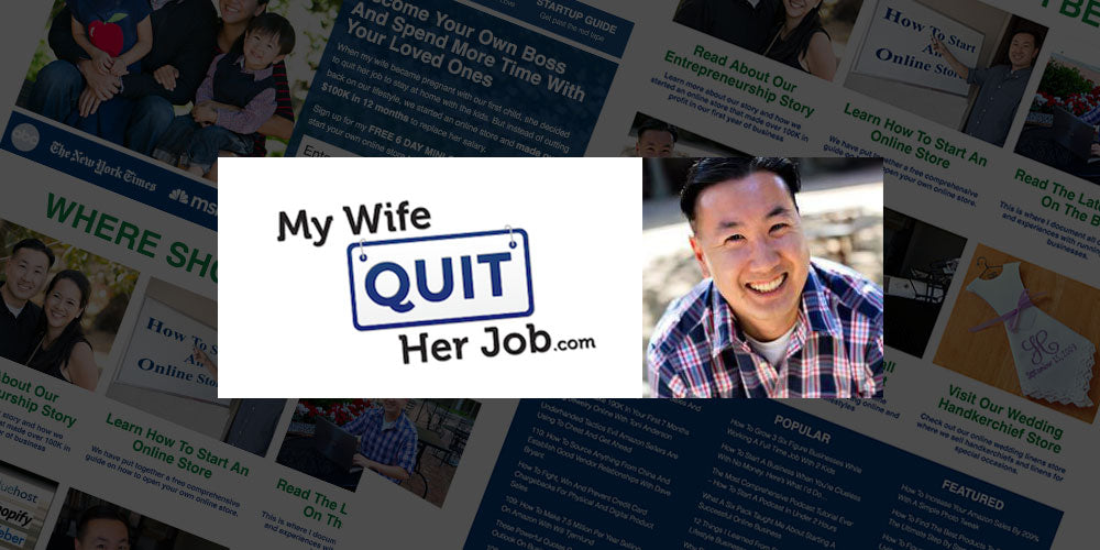 My Wife Quit Her Job - Steve Chou's ecommerce blog