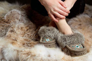 Treat Your Self or Someone You Love - Canadian Made & Cozy Moccasins