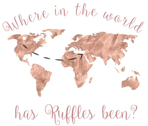 Where in the Word has Ruffles Been? - Israel