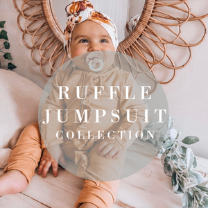Kryssi Kouture Convertible Ruffle Jumpsuit/Sleeper