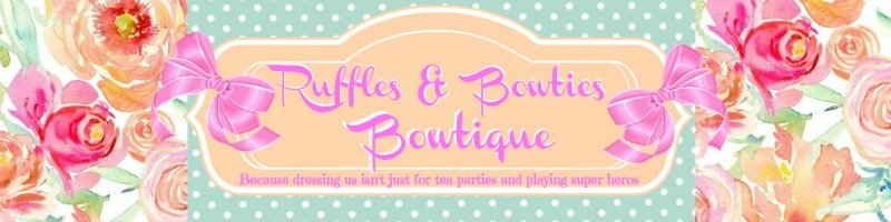 Ruffles and Bowties Boutique Logo