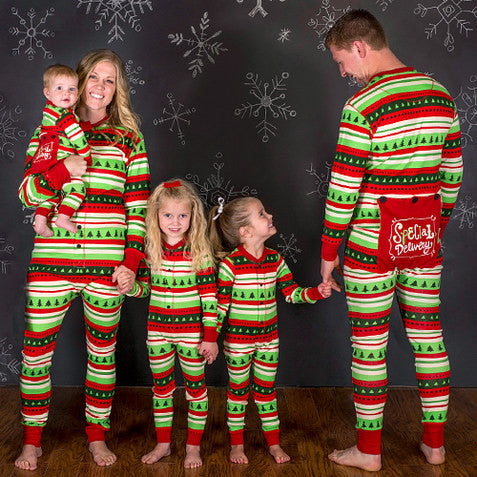 67f26b85d9 ... PRE ORDER - Lazy One Youth   Adult Special Delivery Flapjack Matching  Christmas Pj s - Family ...