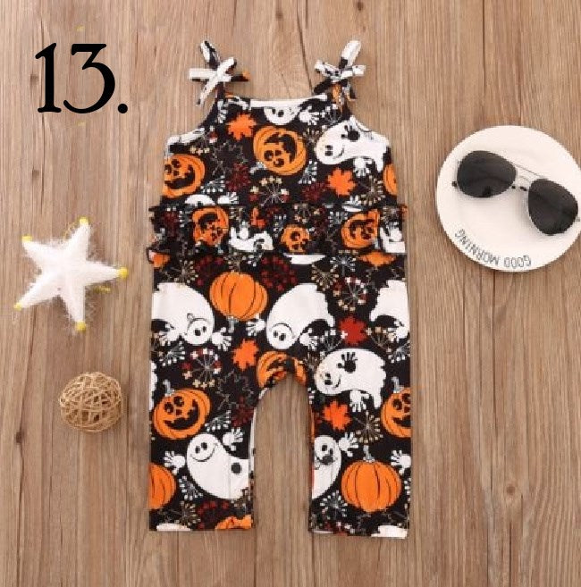 Black Ghost Pumpkin Jumpsuit