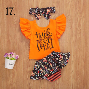 Trick or Treat Candy Bottoms Set