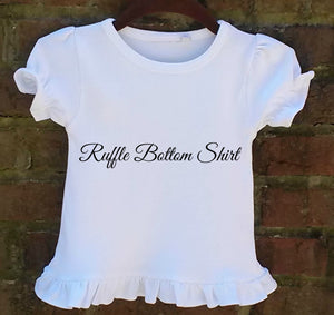 born to pose t-shirt for baby girl