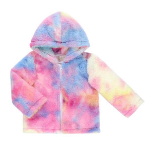 Pink Lemonade Sherbert Fleece Jacket