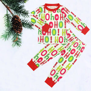Ho Ho Ho Kids Christmas Pajamas