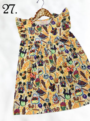 Halloween Treats Theme Park Inspired Fall Dress
