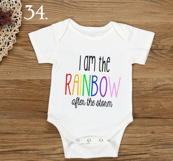 Rainbow Saying Shirt