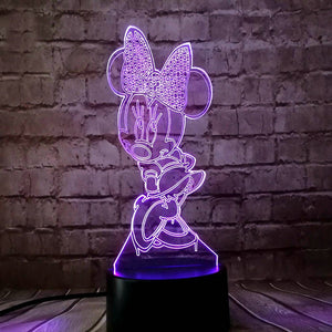 Minnie Kids Led Plugin Light