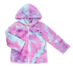 Blue Raspberry Sherbert Fleece Jacket