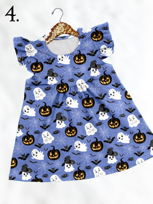 Blue Ghost Theme Park Inspired Fall Dress