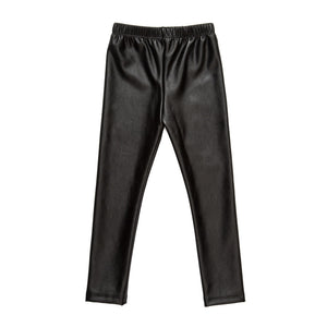 Jane Jett Black Fall Pleather Pants
