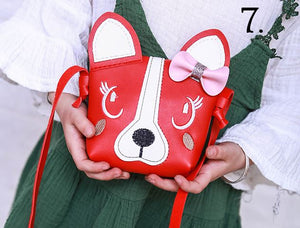 Red Puppy Purse