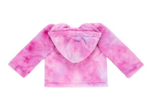 Watermelon Twist Sherbert Fleece Jacket