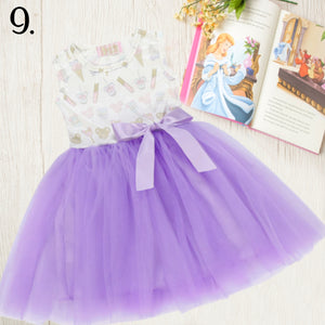 Purple Treats Tulle Tutu Dress