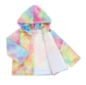 Rainbow Sherbert Fleece Jacket