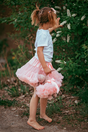 Girls Pettie Skirt with Matching Clothes Tutu for Doll