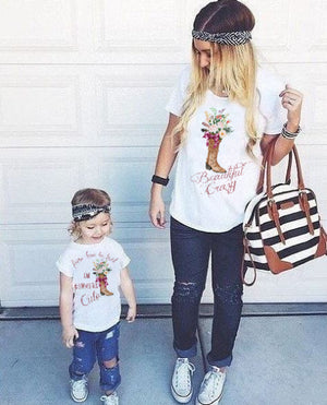 Cowgirl Mommy & Me Twinning Onesie/Shirt