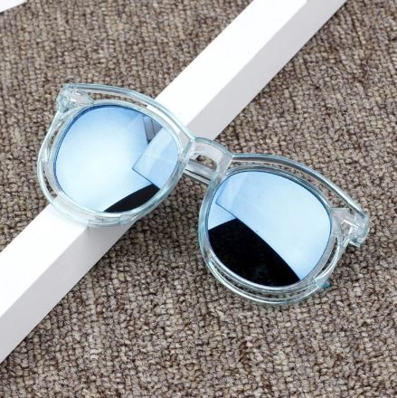 Cut Out Blue Kids Sunglasses