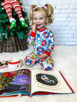 Ugly Sweaters Kids Christmas Pajamas