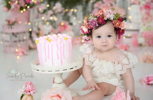 Baby Girl First Birthday Outfits 1st Birthday Outifits Ruffles Bowties Bowtique