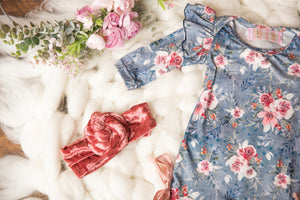 Country Floral Ruffle Jumpsuit