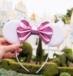 Pretty in Pink Princess Inspired Disney Mouse Ears