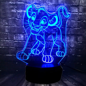 Lion King Simba Led Plugin Light