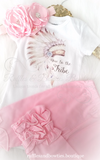 New to the Tribe Boho Onesie/Shirt - Ruffles & Bowties Bowtique - 3