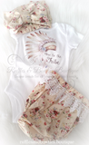 New to the Tribe Boho Onesie/Shirt - Ruffles & Bowties Bowtique - 2