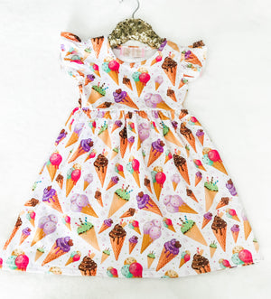 Ice Cream Summer Dress