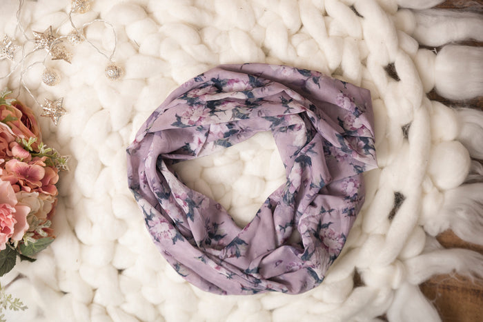 Mommy & Me Romantic Floral Scarf