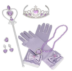 Golden Locks Purple Princess Inspired Set