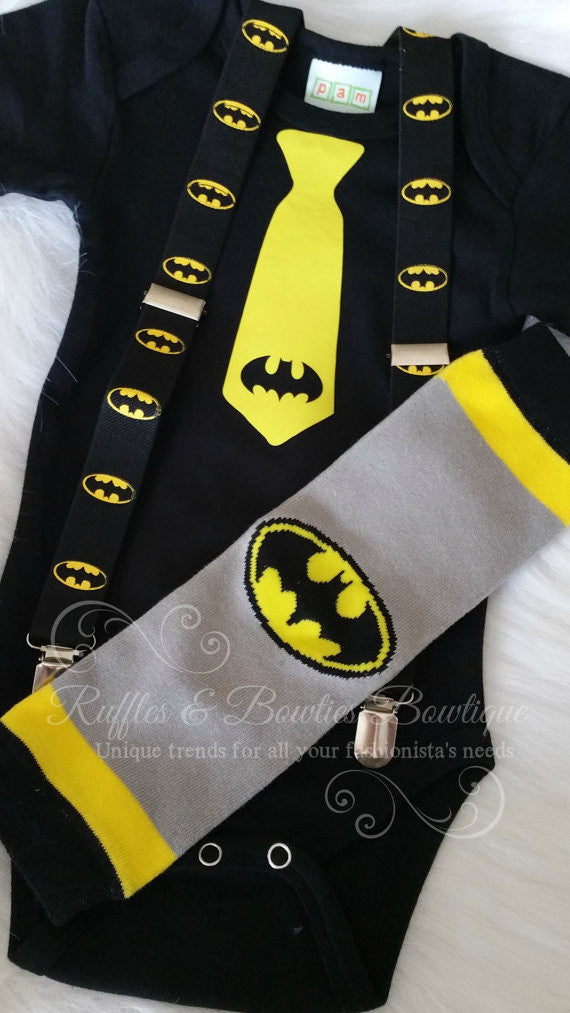 Bat man Onsie/Birthday Oneslie