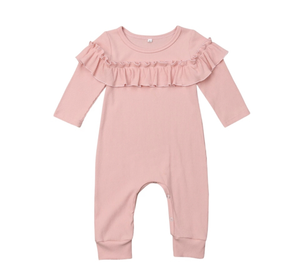 Girls Ruffle Jumper