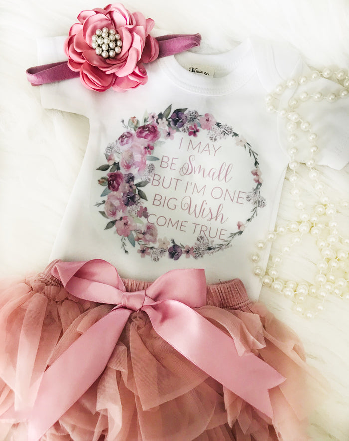 Kryssi Kouture New Baby Girl Dream Come True Newborn Shower Gift