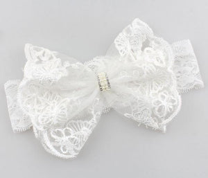 Preciously Perfect Lace Bow