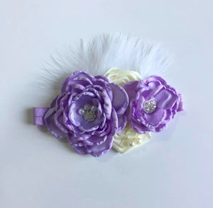 Purple Deluxe Headband