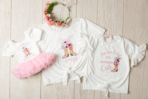 Kryssi Kouture Girls Cutest Cowgirl Tutu Dress