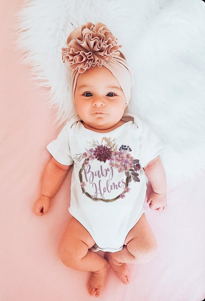 Customized Kryssi Kouture Baby Onesie