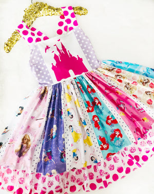 Pink Castle Princess Spin Dress