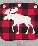 Moose It Up Buffalo Plaid Family Matching PJS - Christmas PJS - Hatley PJS