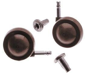 Pair of Beige Orbital Shepherd 50mm Castors (46)