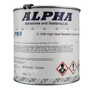 S1358 High Heat Brushable Adhesive 1lt