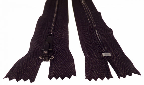 Cut Length Closed End Zips No.5