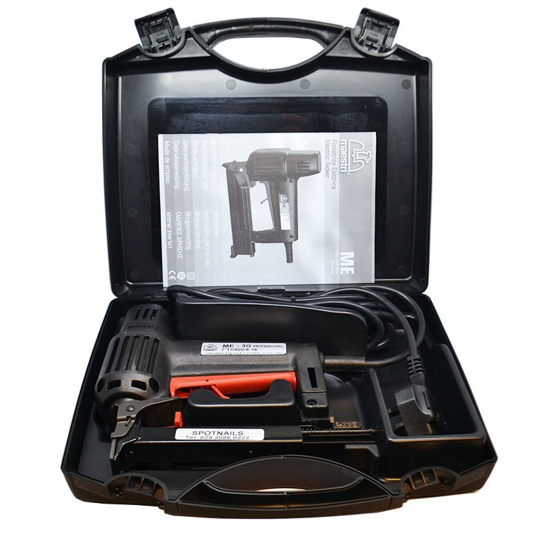 Maestri ME3G Electronic Staple Gun 71 Series