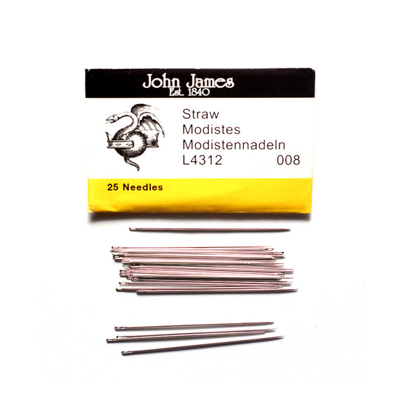 Hand Sewing Needles (Straw Milliners)