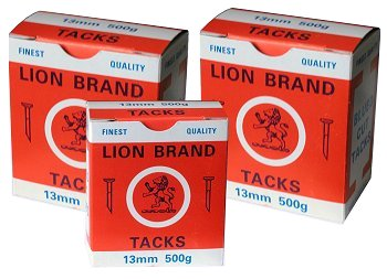Lion Brand Blued Cut Tacks
